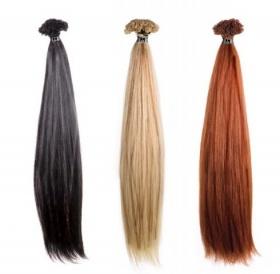 Glattes Haar in den Längen 30-40 cm und 50-60cm